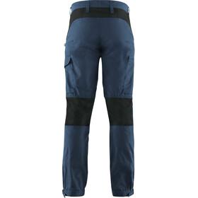 Fjällräven Kaipak Pantalones Hombre, uncle blue/dark grey